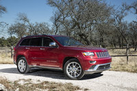 2014 Jeep Grand Cherokee, Front-quarter view, manufacturer, exterior