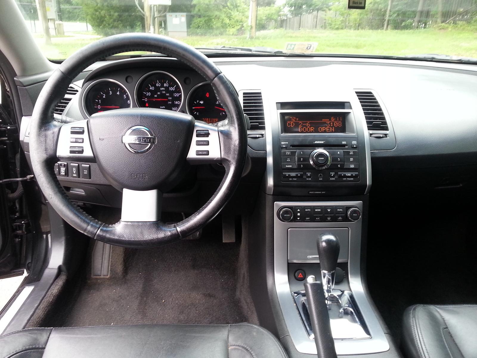 2007 Nissan Maxima Interior Pictures Cargurus