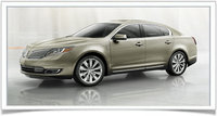 2014 Lincoln MKS, Front-quarter view, exterior, manufacturer, gallery_worthy