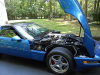 Picture of 1991 Chevrolet Corvette Coupe RWD, engine, gallery_worthy
