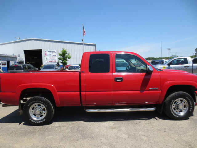 Picture of 1999 Chevrolet Silverado 2500 LT Extended Cab RWD, exterior, gallery_worthy