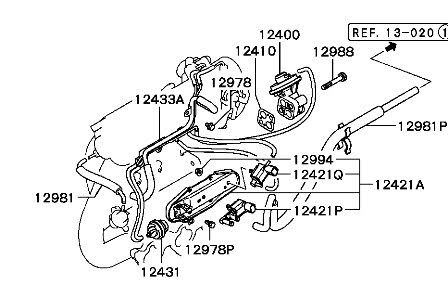 Discussion C12255 ds550354 on 2003 mitsubishi eclipse vacuum diagram