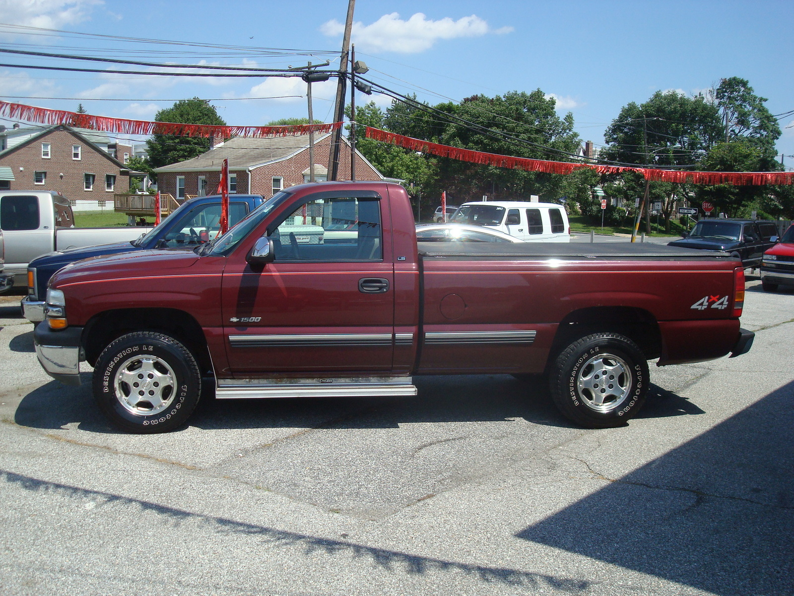 picture of 2000 chevrolet silverado 1500 ls long bed 4wd exterior. Cars Review. Best American Auto & Cars Review