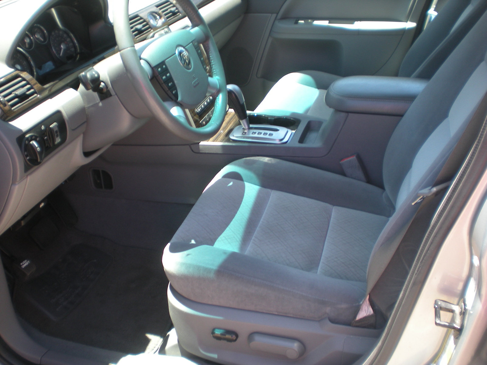 Mercury Montego Luxury Awd Pic on 2006 Mercury Montego Premier Interior