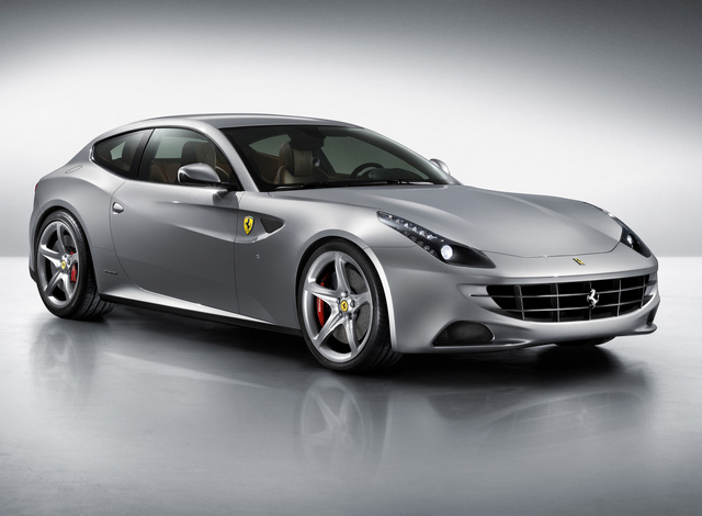 2013 Ferrari FF, Front-quarter view, exterior, manufacturer, gallery_worthy