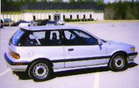 Picture of 1989 Mitsubishi Mirage Sport Turbo Hatchback, exterior