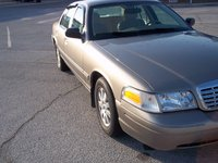 2006 Ford Crown Victoria LX, Beautiful light bronze, exterior