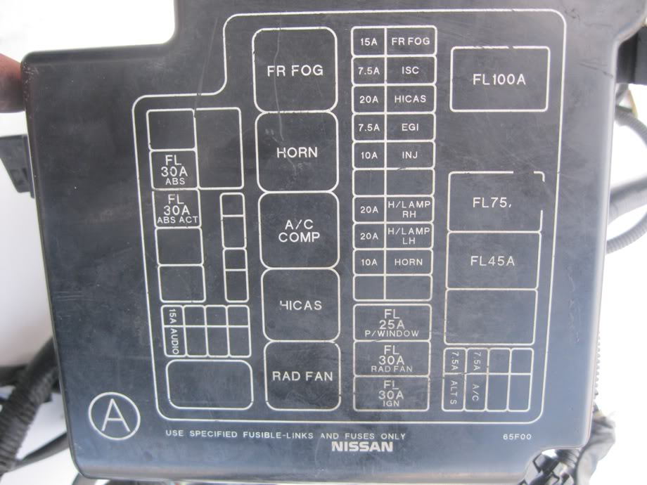 nissan b14 fuse box diagram nissan wiring diagrams