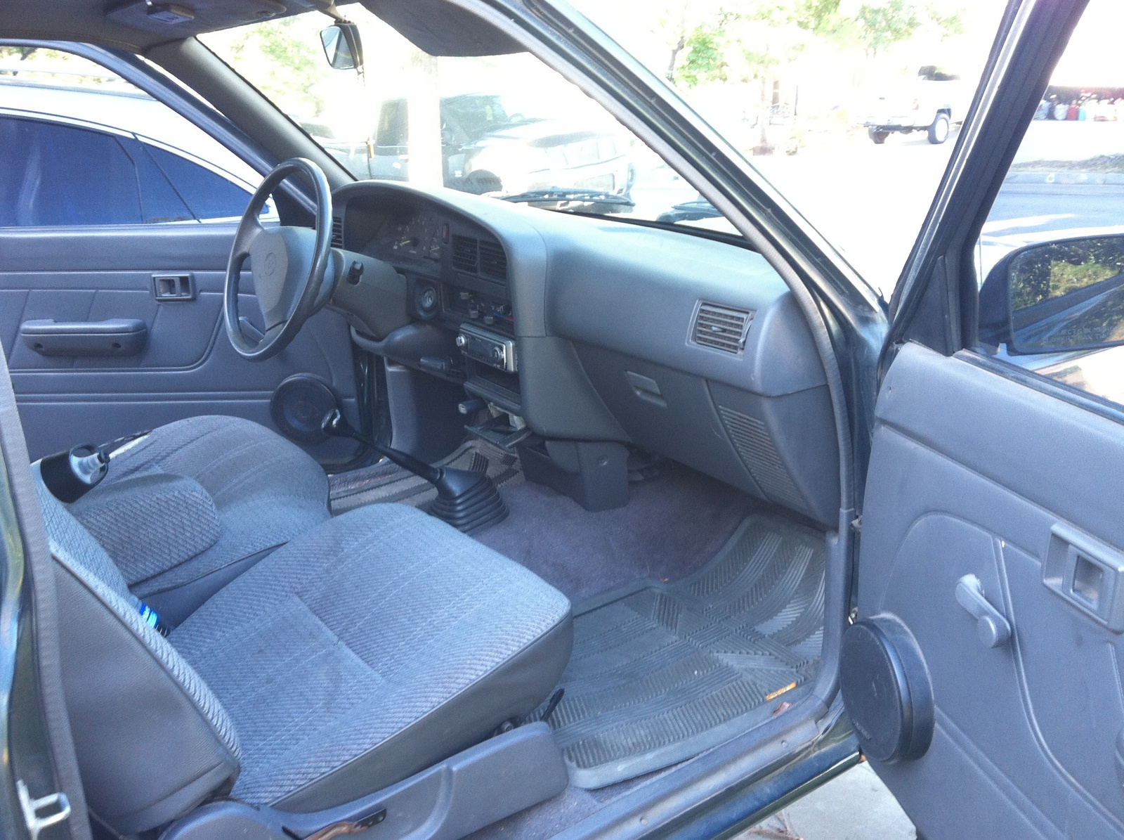 1994 Toyota Pickup Interior Parts Pictures To Pin On