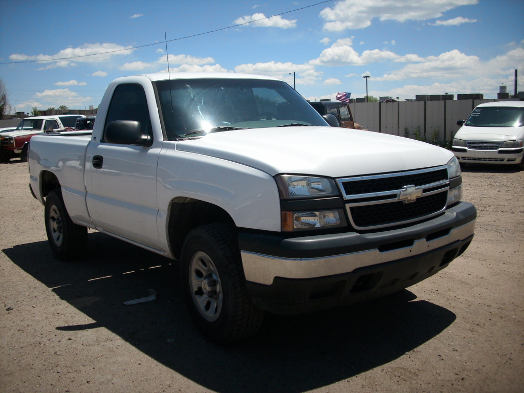 picture of 2006 chevrolet silverado 1500 ls 4wd exterior. Cars Review. Best American Auto & Cars Review
