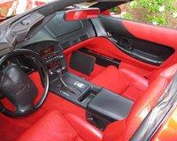 1994 Chevrolet Corvette Coupe, Torch Red Interior, interior