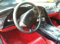 1990 Chevrolet Corvette Coupe, Picture of 1990 Chevrolet Corvette Base, interior