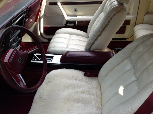 1981 Dodge Mirada, Mirada interior, interior
