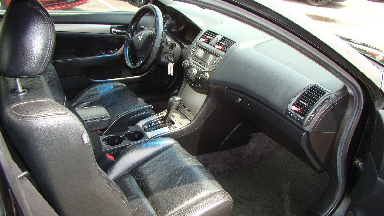 Honda Accord Ex W Leather Coupe Pic