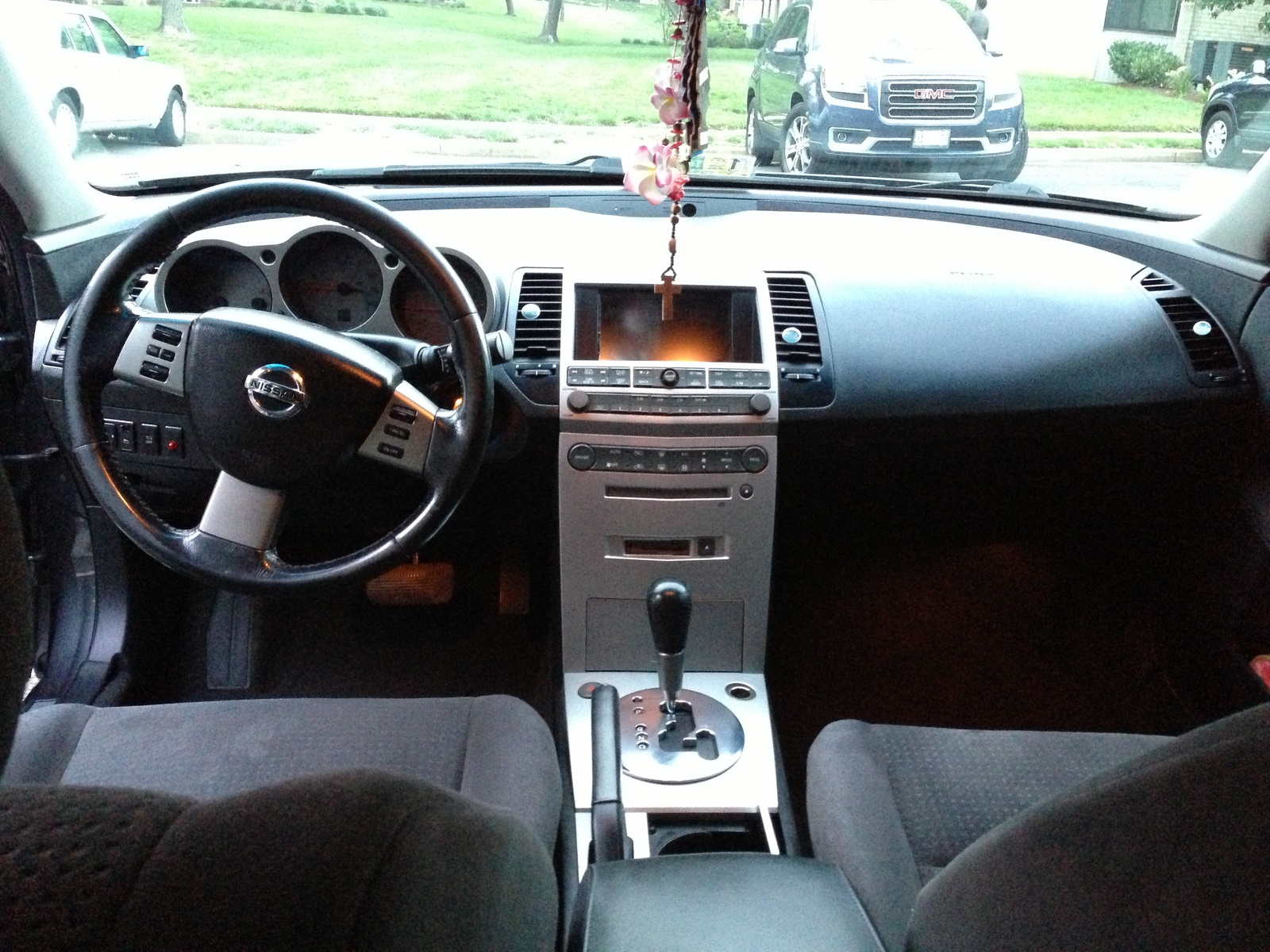 2006 nissan maxima interior photos