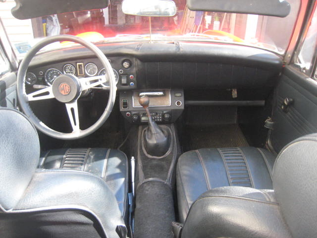 Mg midget interior