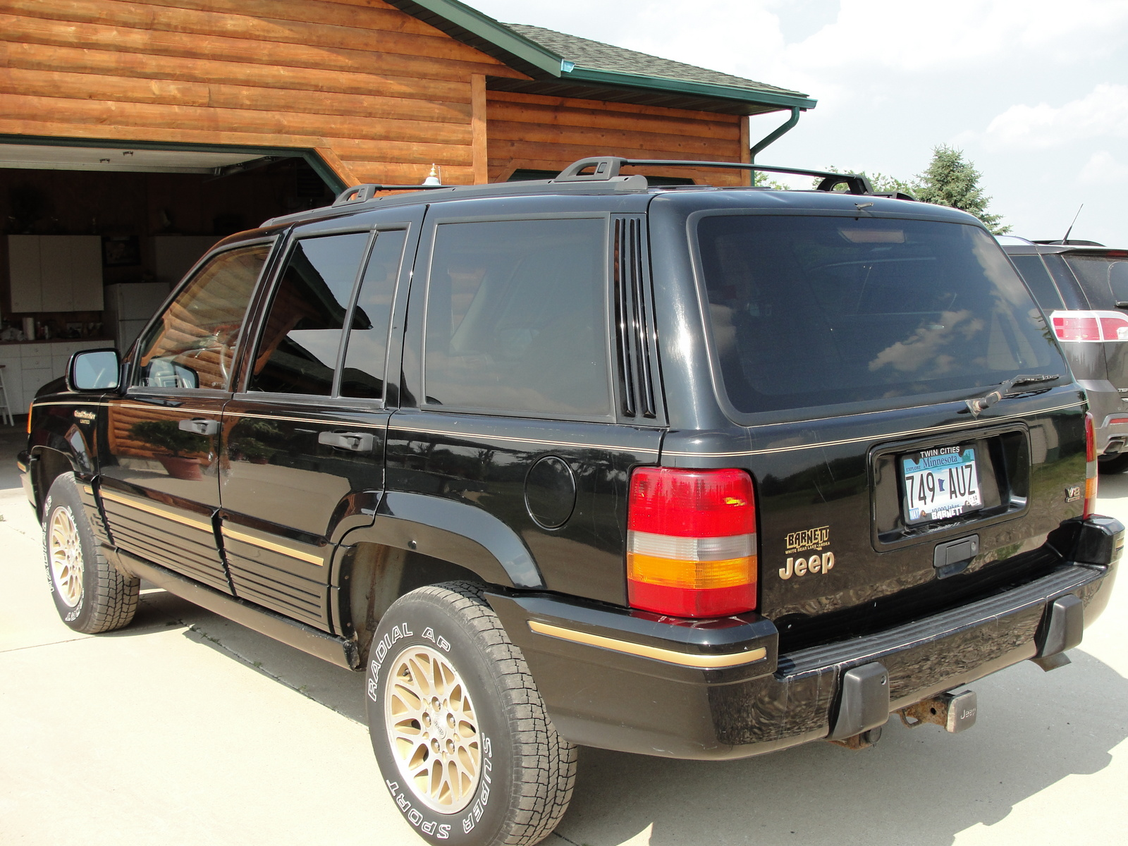 picture of 1995 jeep grand cherokee limited 4wd exterior. Cars Review. Best American Auto & Cars Review