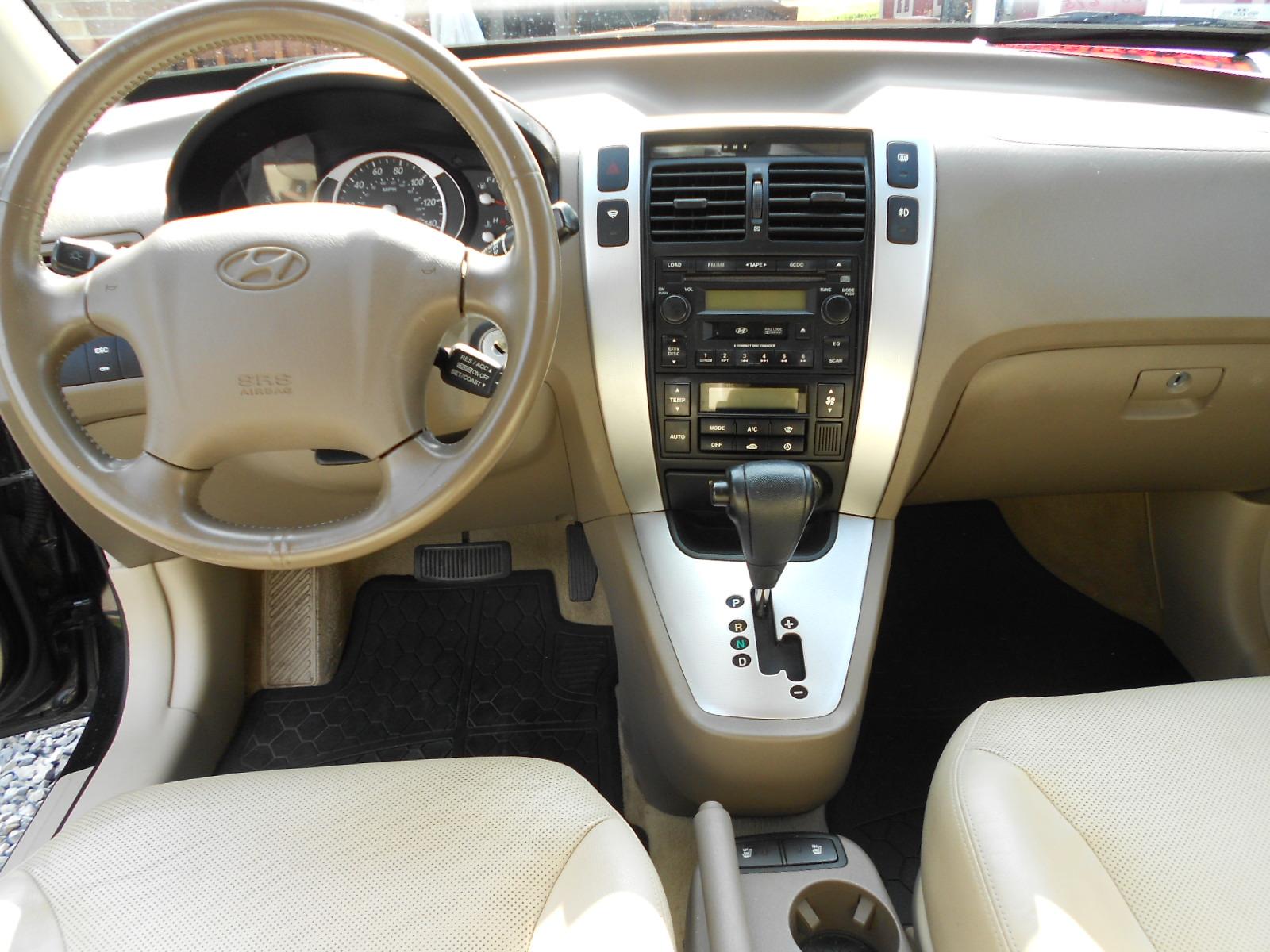 2006 Hyundai Tucson Interior Pictures Cargurus