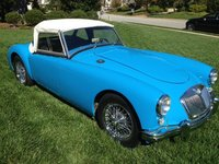 1958 MG MGA Overview