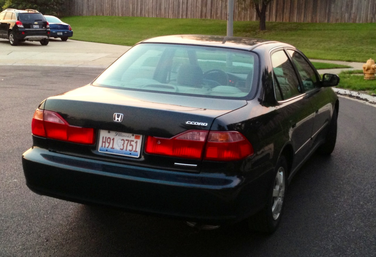 2003 Honda accord coupe special edition