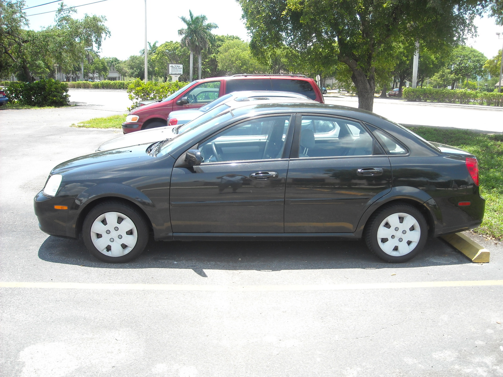 Picture of 2007 suzuki forenza sedan w abs exterior