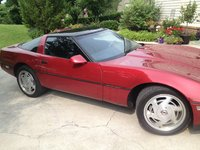 1989 Chevrolet Corvette Coupe, 1989 Chevrolet Corvette Base picture, exterior