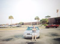 1997 Oldsmobile Regency 4 Dr STD Sedan, This is me with my 1997 Oldsmobile Regency back in 2005., exterior