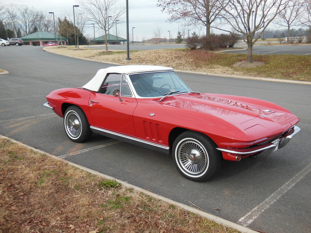 Picture of 1966 Chevrolet Corvette Convertible Roadster, exterior, gallery_worthy