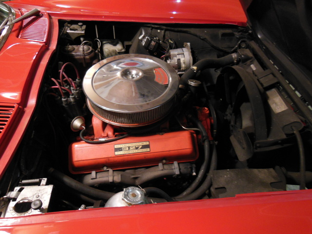 Picture of 1966 Chevrolet Corvette Convertible, engine, gallery_worthy