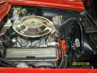 1964 Chevrolet Corvette Convertible Roadster picture, engine