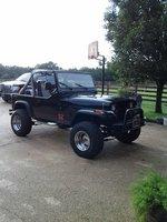 1989 Jeep Wrangler, 89 wrangler Low Output, exterior