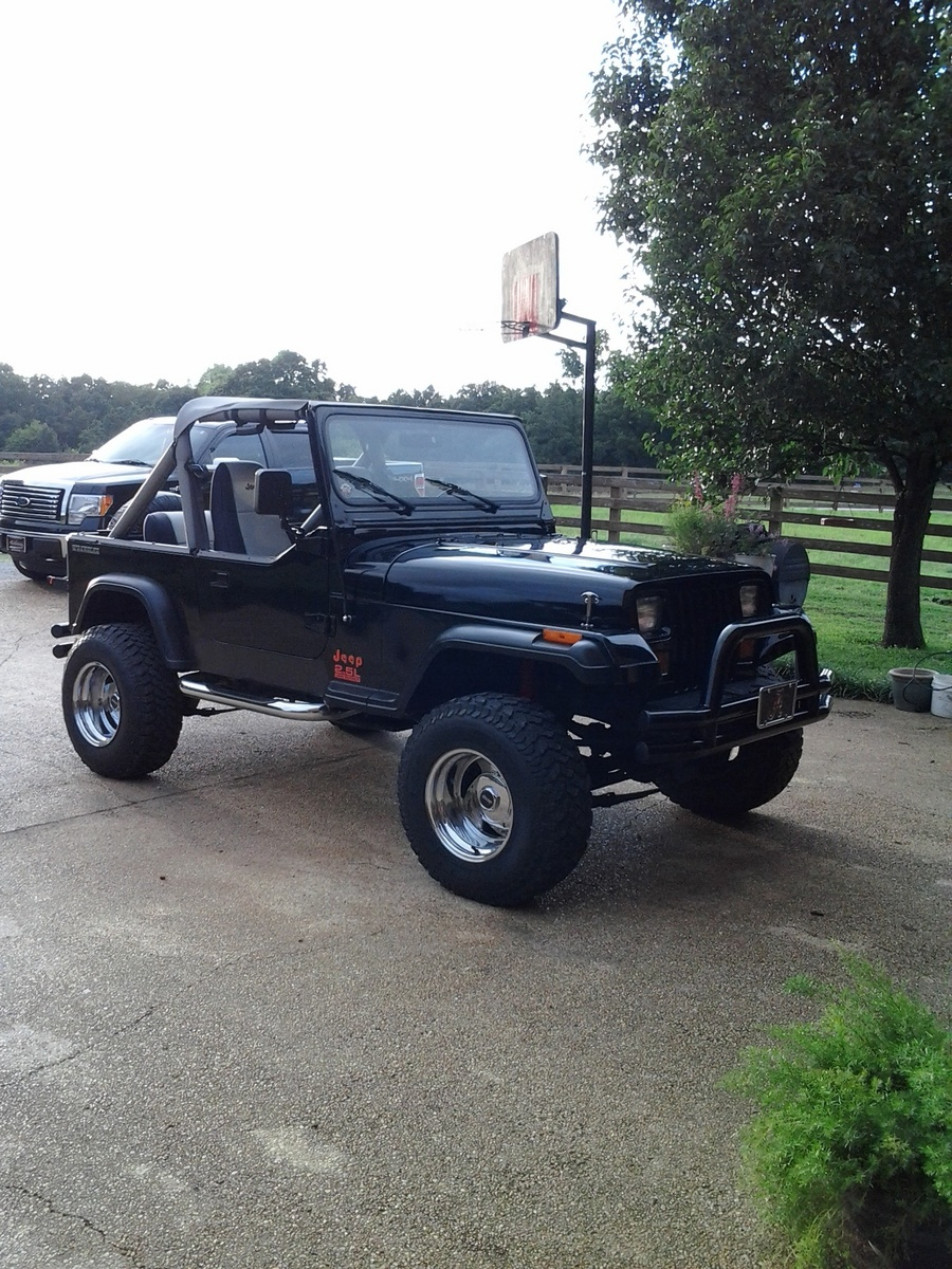 89 wrangler Low Output