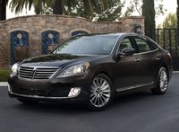 2014 Hyundai Equus, Front-quarter view, exterior, manufacturer, gallery_worthy