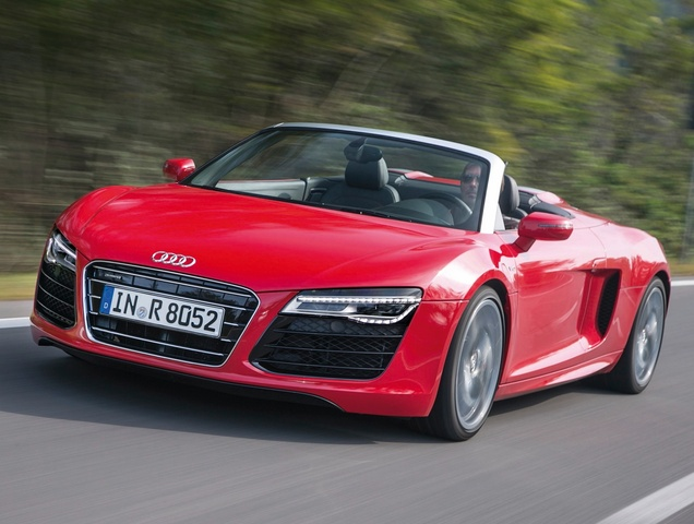 2014 Audi R8, Front-quarter view, exterior, manufacturer, gallery_worthy