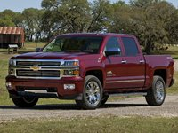 2014 Chevrolet Silverado 1500, Front-quarter view. Copyright General Motors, exterior, manufacturer