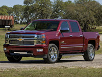 2014 Chevrolet Silverado 1500, Front-quarter view. Copyright General Motors, manufacturer, exterior