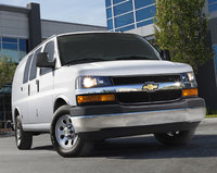 2014 Chevrolet Express, Front view. Copyright General Motors, manufacturer, exterior