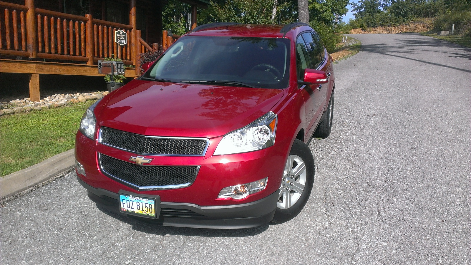 picture of 2012 chevrolet traverse 1lt exterior. Cars Review. Best American Auto & Cars Review