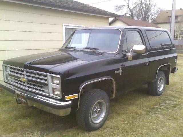 1985 Chevrolet Blazer Pictures Cargurus