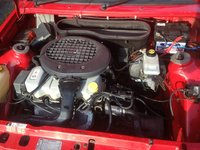 Picture of 1990 Ford Escort 4 Dr LX Hatchback, engine