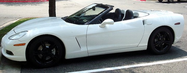 2010 Chevrolet Corvette Convertible 2LT, top down, exterior