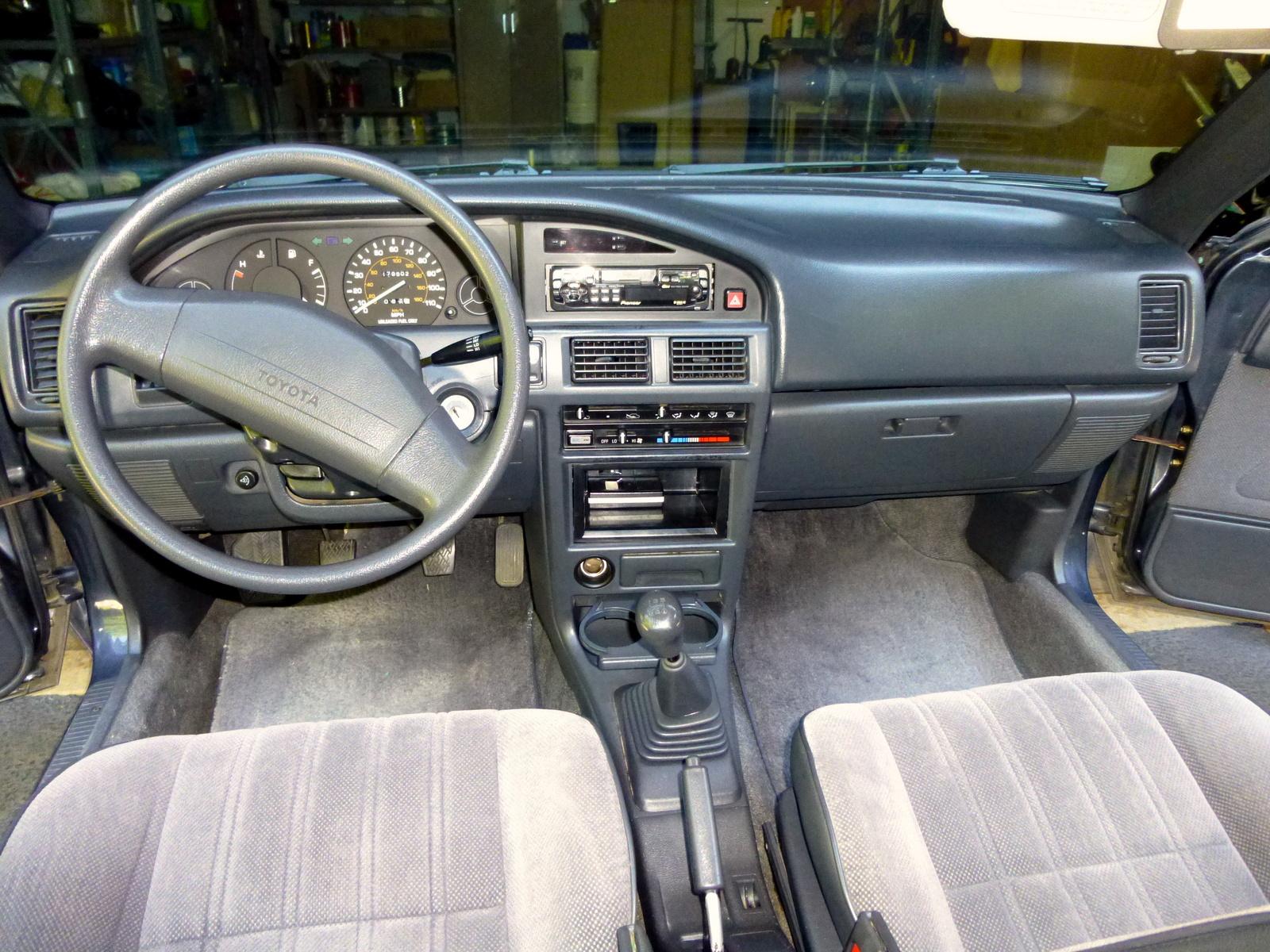1991 toyota corolla interior pictures cargurus 2017 Honda Accord Honda Accord Sport