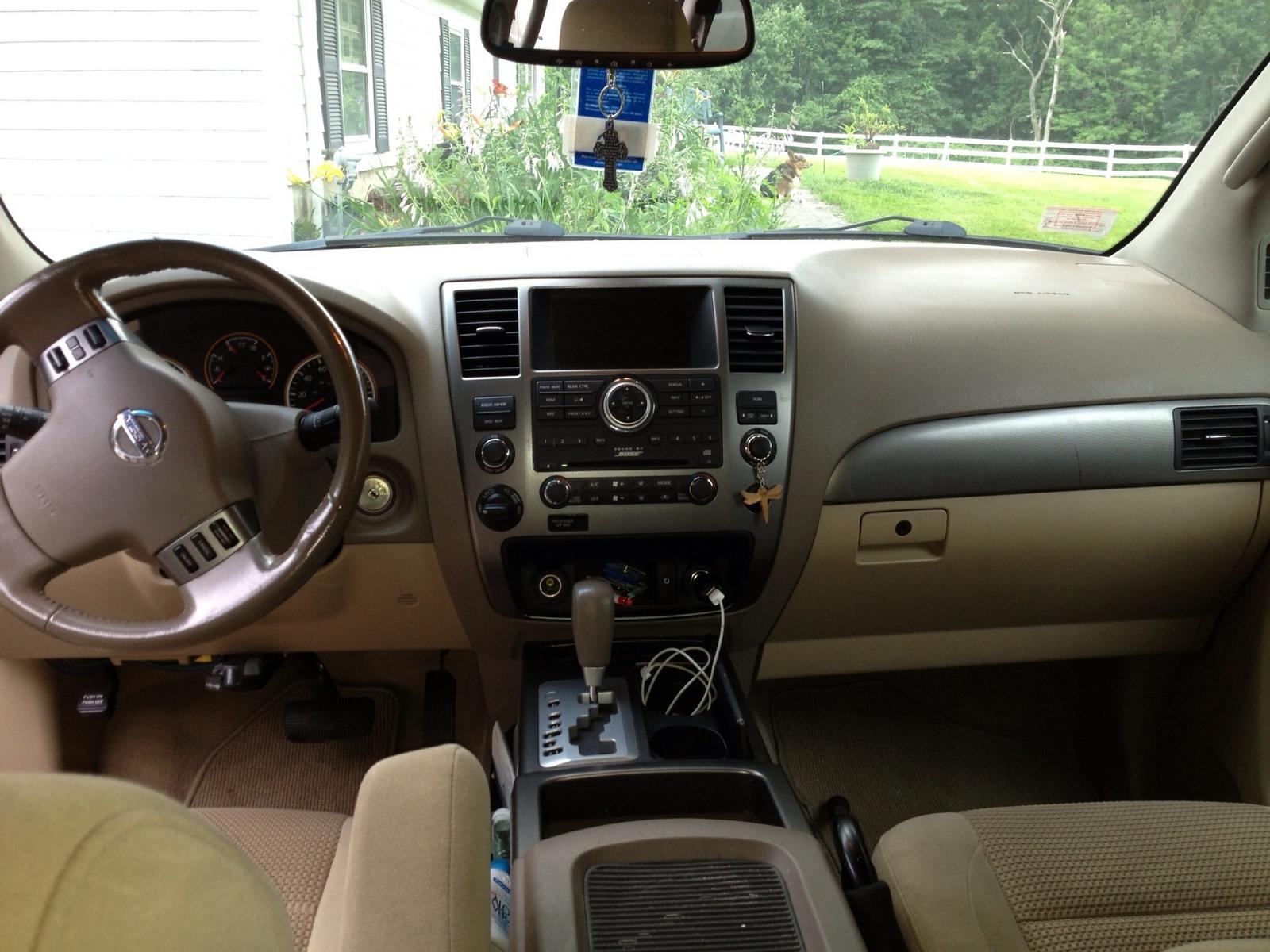 2008 Nissan Armada Interior Dimensions