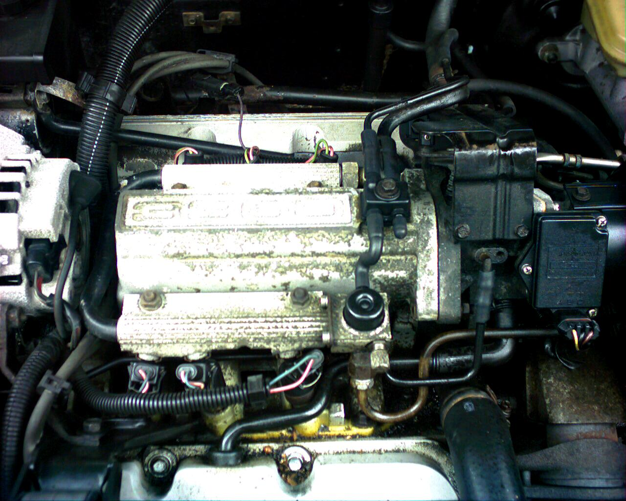 1989 Buick Century picture, engine