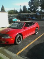 1996 Mitsubishi Eclipse Spyder 2 Dr GS-T Turbo Convertible picture, exterior