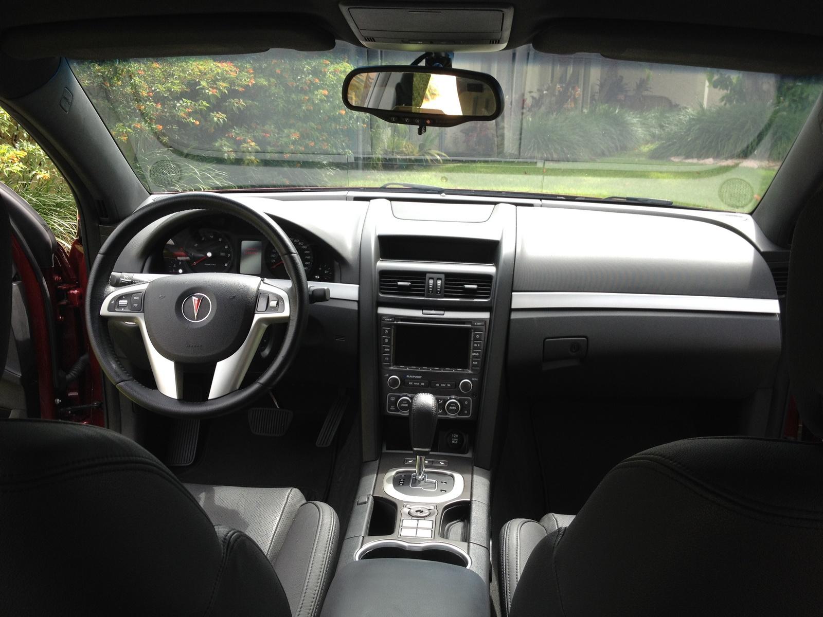 2009 Pontiac G8 Interior Pictures Cargurus