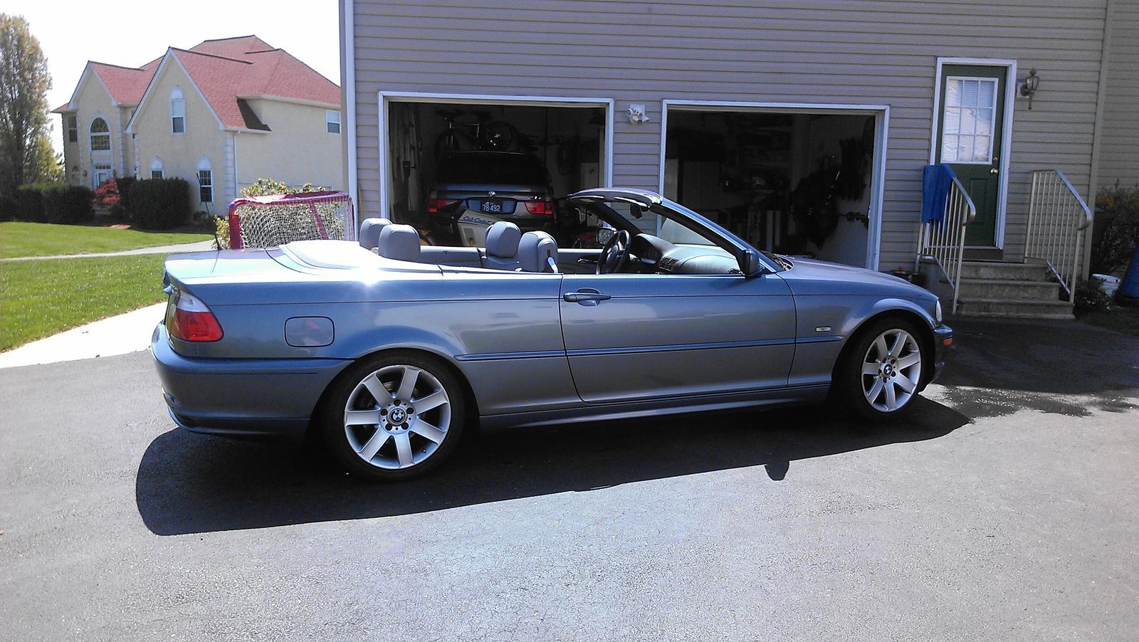 2002 bmw 325ci convertible problems
