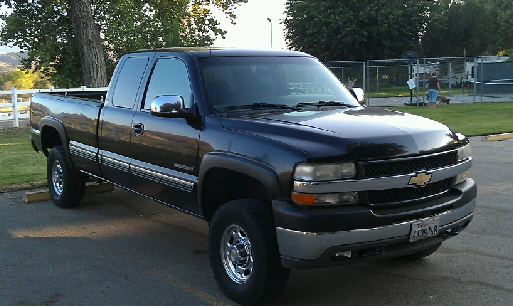 picture of 2001 chevrolet silverado 2500hd lt extended cab lb 4wd. Cars Review. Best American Auto & Cars Review