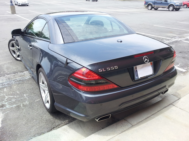 Picture of 2008 Mercedes-Benz SL-Class SL 550, exterior