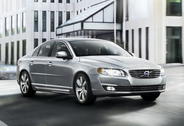 2014 Volvo S80, Front-quarter view, exterior, manufacturer, gallery_worthy